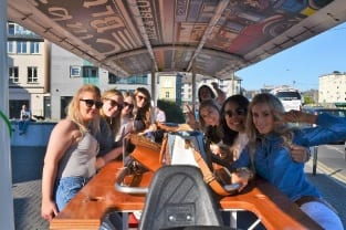 Hen Party Activity Galway Pedi Bus 2 hen party ideas belles and blazers