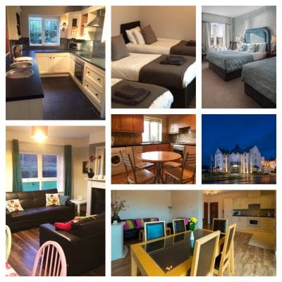 collage of hen party accommodation for hen parties in carrick on shannon