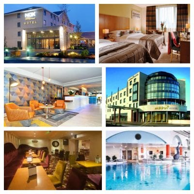 Galway hen party hotels collage