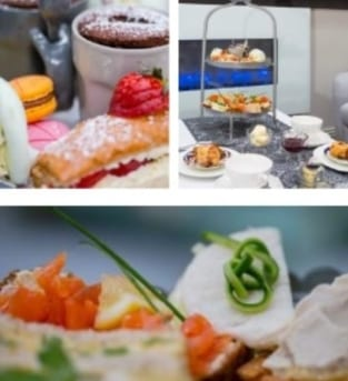 Image shows afternoon Tea in Galway